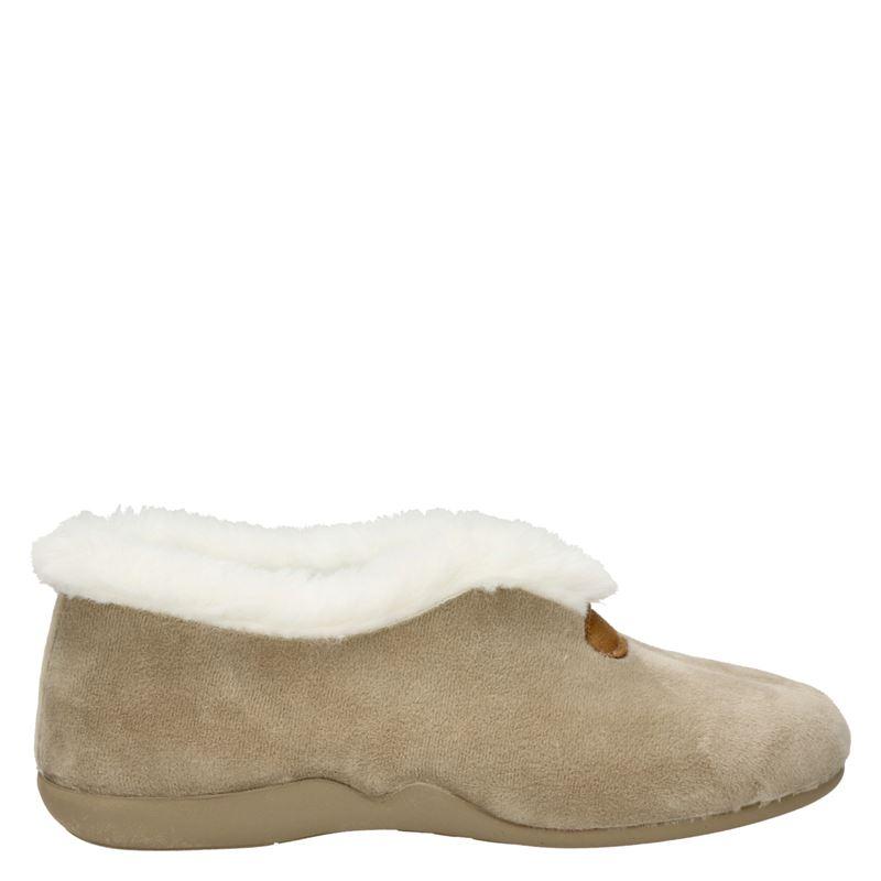 Comfort plus pantoffels beige online kopen