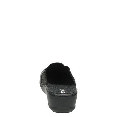 Rohde dames pantoffels Zwart