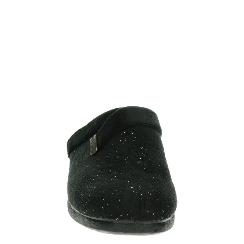 Antibes - Pantoffels - Zwart