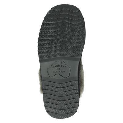 Warmbat Australia dames pantoffels Zwart
