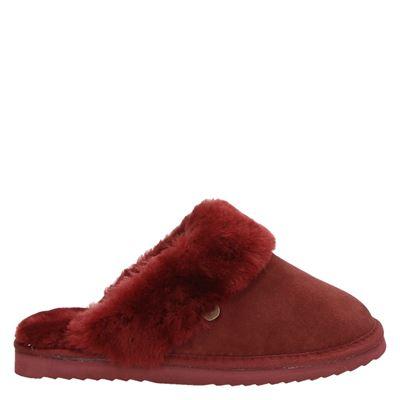 Warmbat Australia dames pantoffels rood
