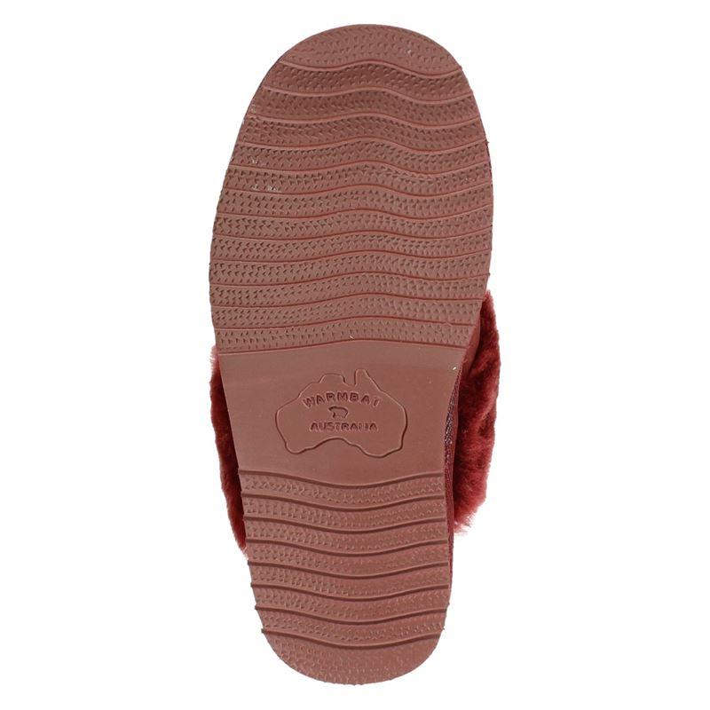 Warmbat Australia Flurry - Pantoffels - Rood