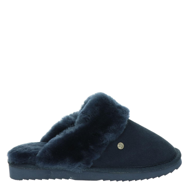 Warmbat Australia pantoffels blauw