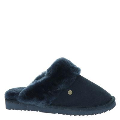 Warmbat Australia dames pantoffels Blauw
