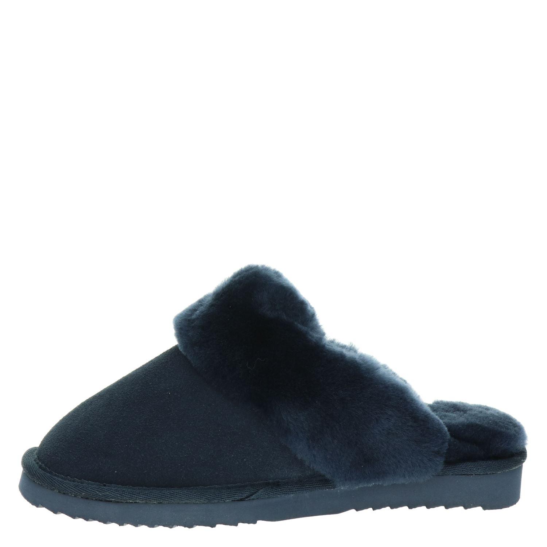 Pantoffels Warmbat Australia Blauw Dames Normaal kXZiOPu