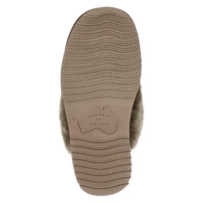 Warmbat Australia dames pantoffels Taupe
