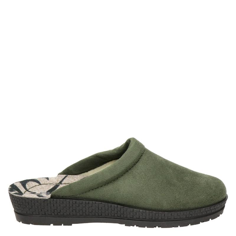 Rohde pantoffels kaki online kopen