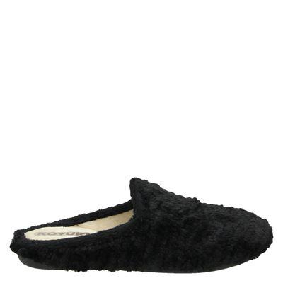 Koyuk dames pantoffels zwart