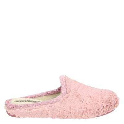 Koyuk dames pantoffels roze