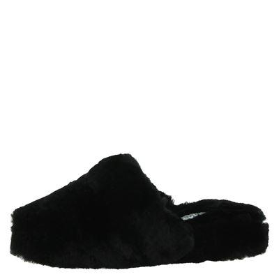 Alpacas dames pantoffels Zwart