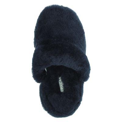Alpacas dames pantoffels Blauw