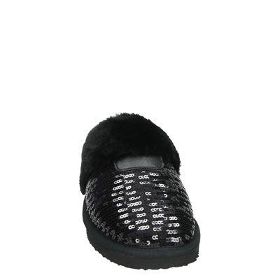 Nelson dames pantoffels Zwart