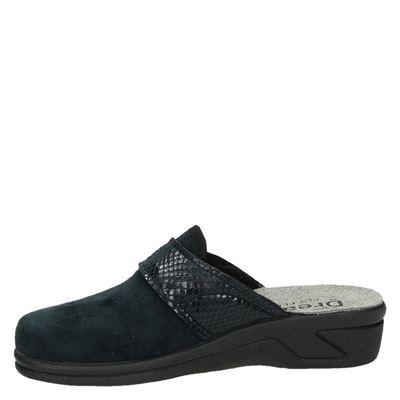 Dream dames pantoffels Zwart
