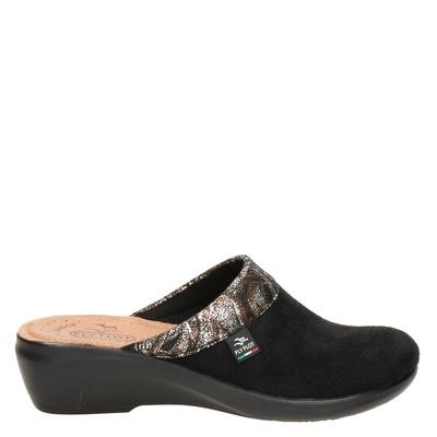 FlyFlot dames pantoffels zwart
