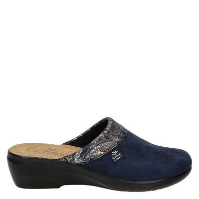 FlyFlot dames pantoffels blauw