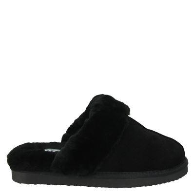 Ara dames pantoffels zwart