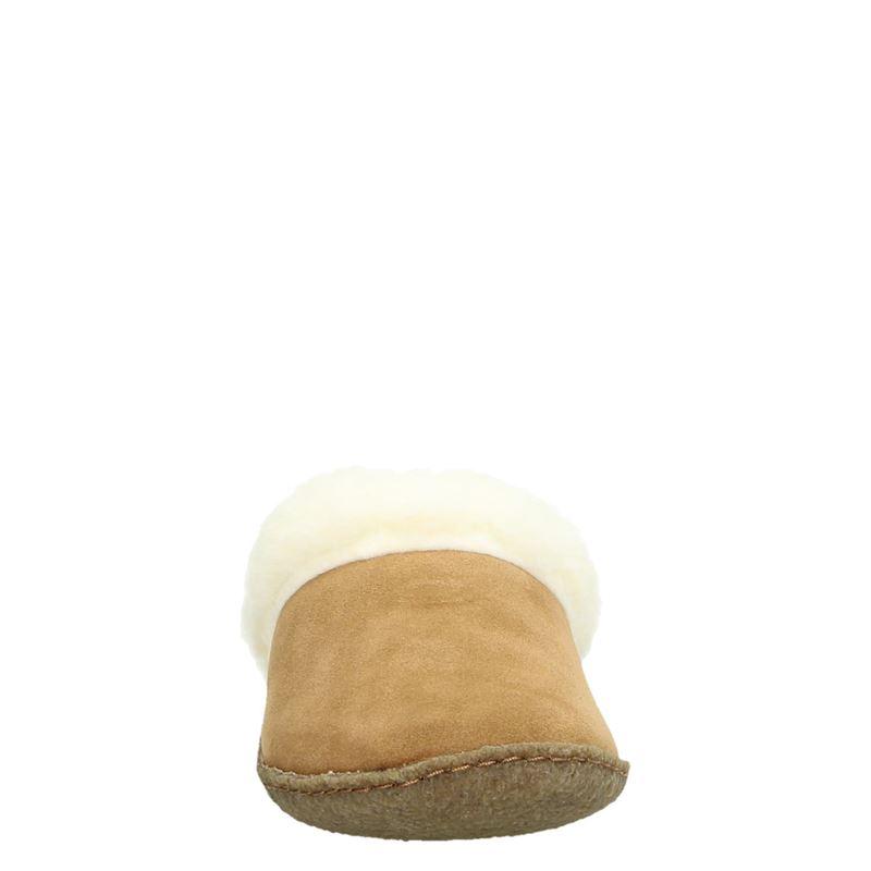 Sorel Nakiska Slide - Pantoffels - Cognac