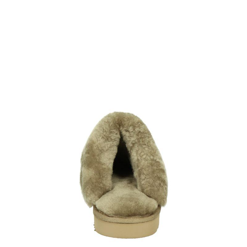 Warmbat Australia Flurry - Pantoffels - Bruin