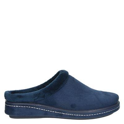 Nelson Home dames pantoffels blauw