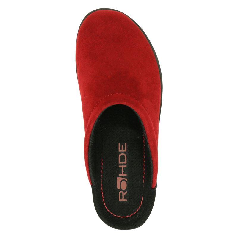 Rohde - Pantoffels - Rood