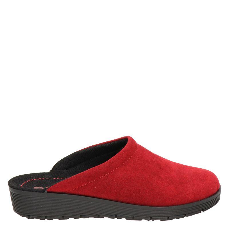 Rohde pantoffels rood online kopen