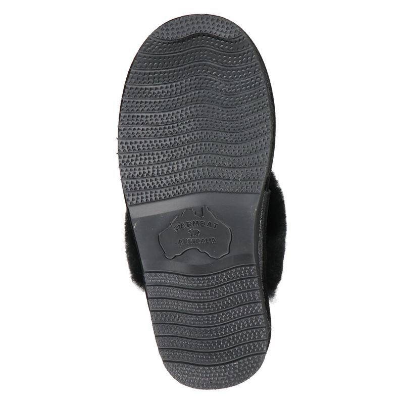 Warmbat Australia Lismore - Pantoffels - Zwart