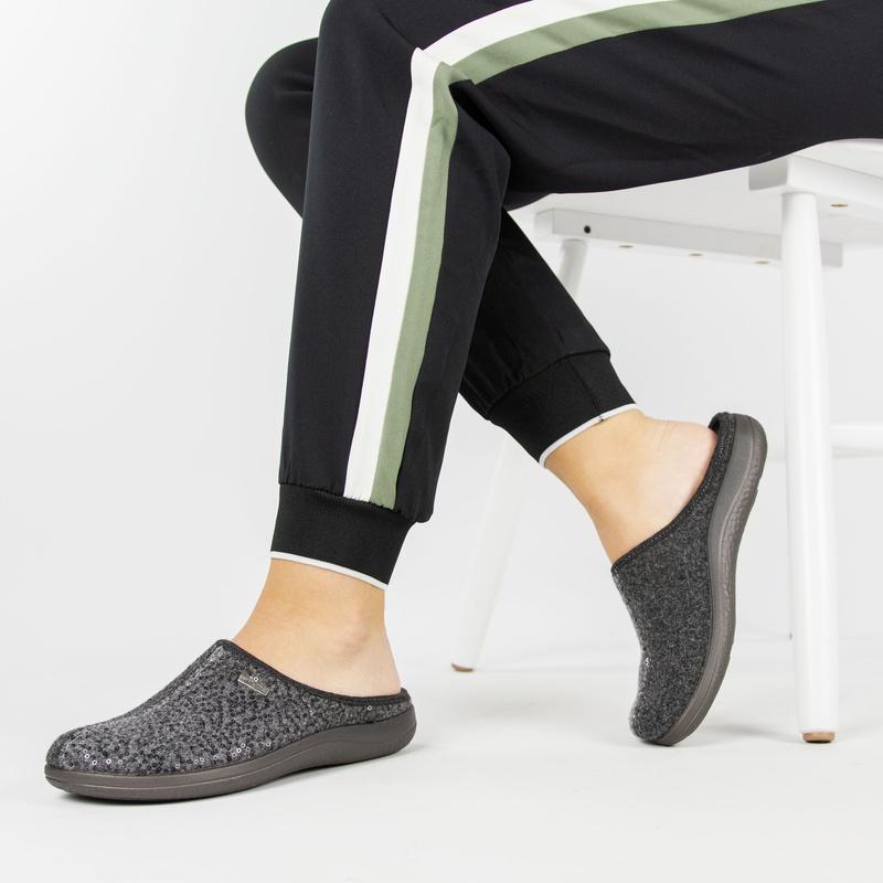 Rohde - Pantoffels - Grijs