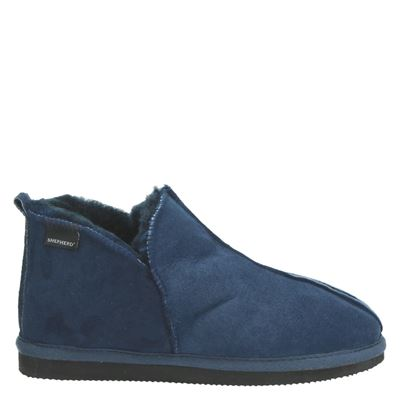 Shepherd dames pantoffels blauw