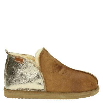 Shepherd dames pantoffels bruin