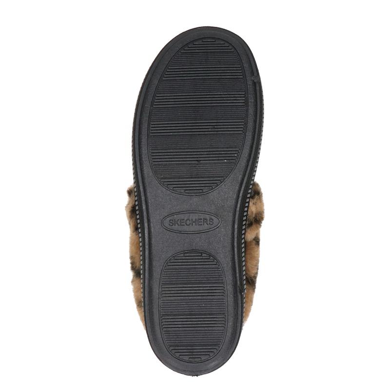 Skechers - Pantoffels - Zwart