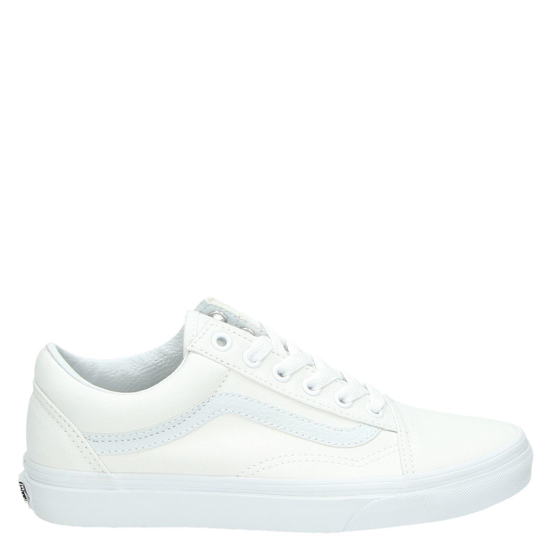 Vans Old Skool unisex lage sneakers wit
