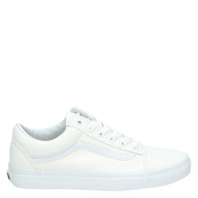 Vans unisex sneakers wit