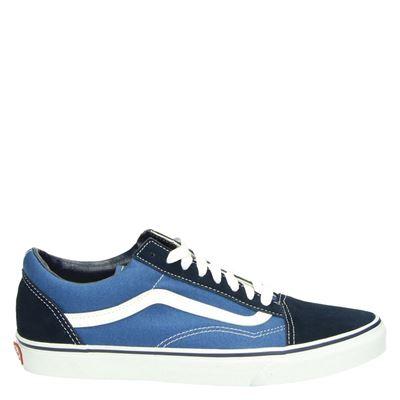 Vans unisex lage sneakers blauw