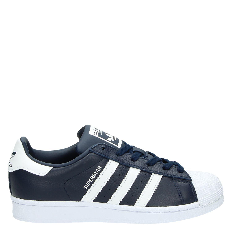 Adidas Superstar Blauw Sneakers Dames Weave Blauwe Lage