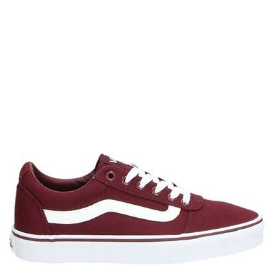 Vans unisex sneakers rood