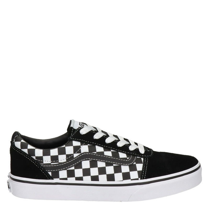 Vans Ward Checkerboard - Lage sneakers - Zwart