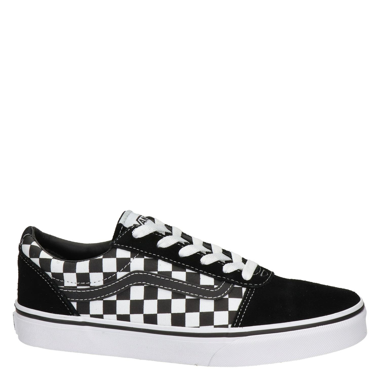 Vans Ward Checkerboard - Lage sneakers - Zwart u0fzegx