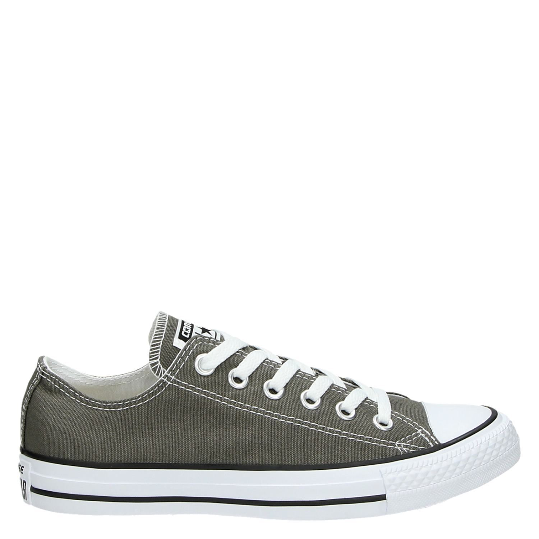 e3322647f7f Converse All Star unisex lage sneakers grijs