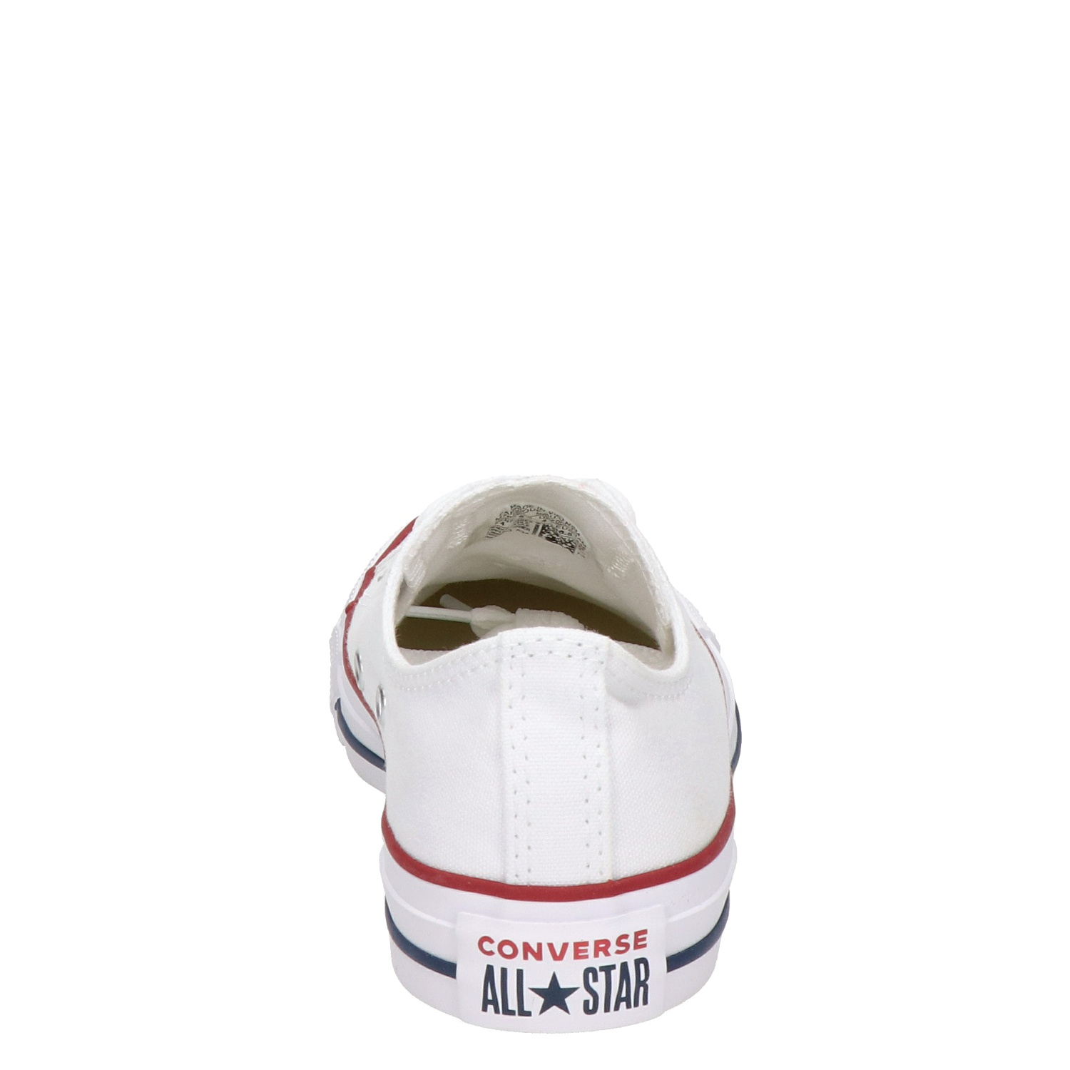 9faaa523480 Converse All Star unisex lage sneakers wit