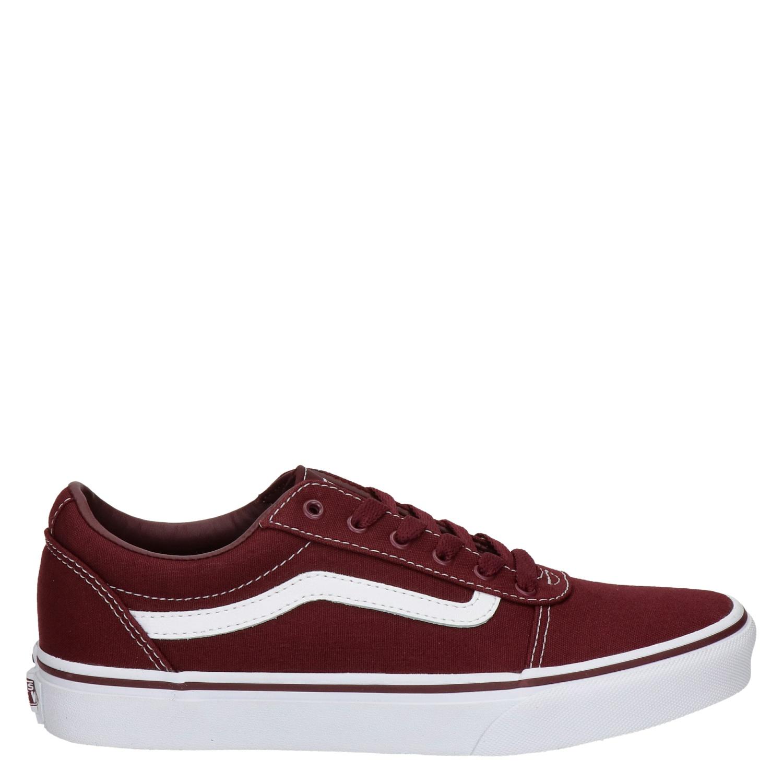 Vans Vans WM Ward rood sneakers dames