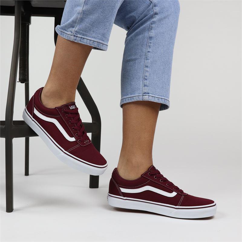 Vans WM Ward - Lage sneakers - Rood