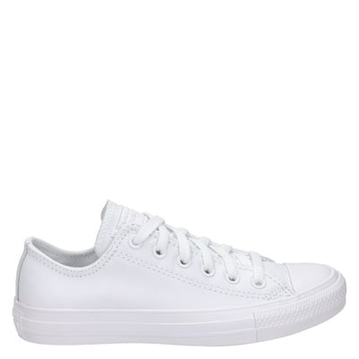Converse unisex lage sneakers wit
