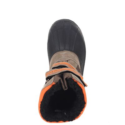 Orange Babies unisex snowboots Bruin