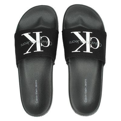 Calvin Klein unisex slippers zwart
