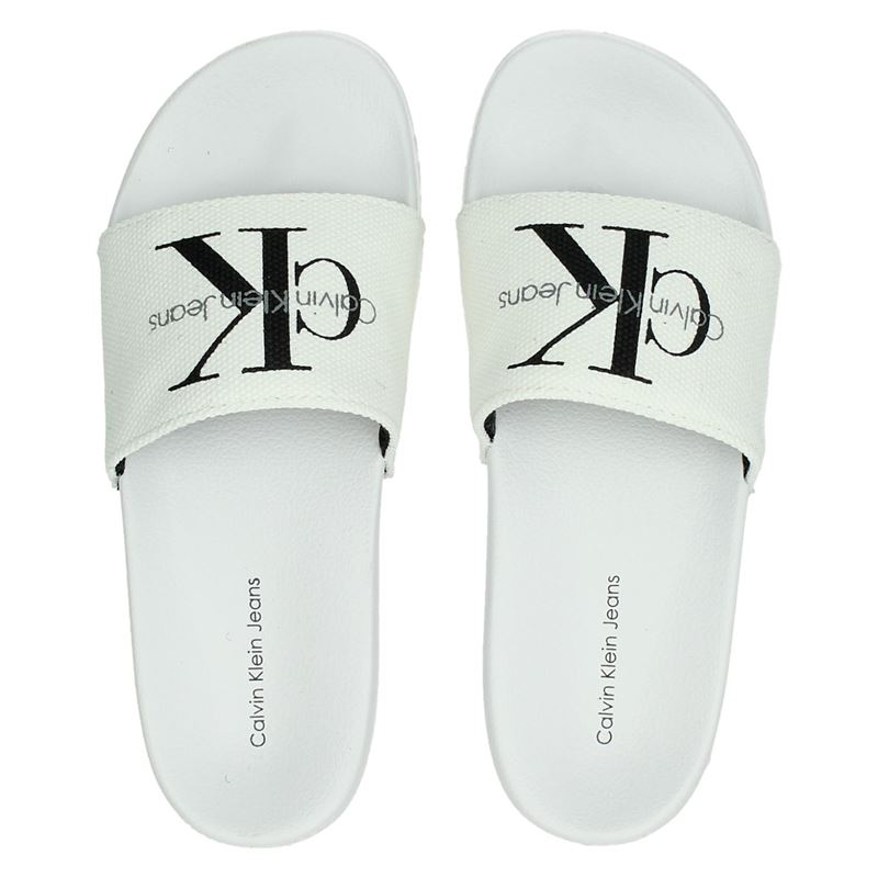 Calvin Klein Chantal - Badslippers - Wit