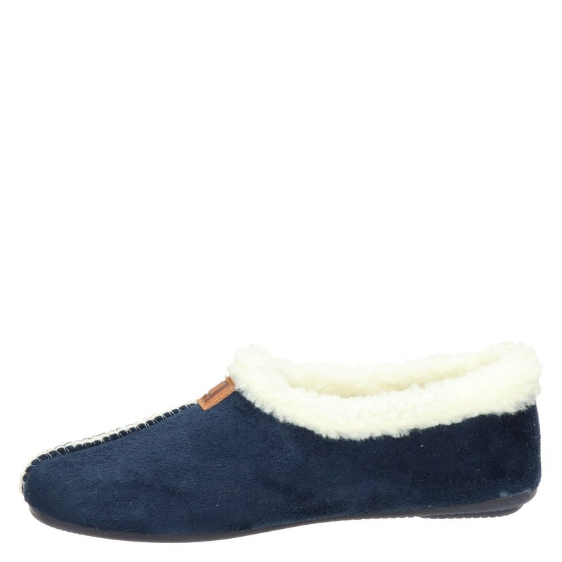 Nelson Home - Pantoffels - Blauw