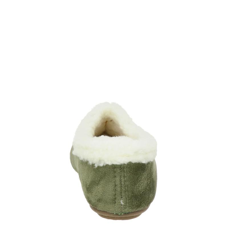 Nelson Home - Pantoffels - Groen