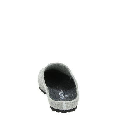 Nelson unisex pantoffels Grijs