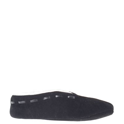 Hobb's unisex pantoffels zwart