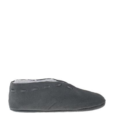 Hobb's unisex pantoffels grijs